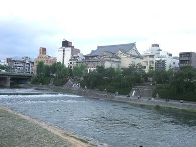 京都川床〜お好み焼き 003
