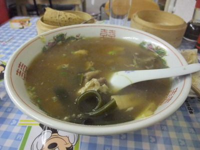 天龍菜館 例湯