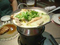 湯葉と銀杏のスープ