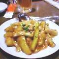 茄子海老味噌