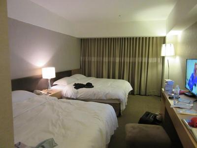 台北のホテルの部屋