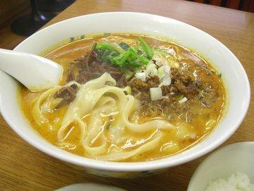 坦々刀削麺1