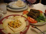 レバノン料理 ホンモスとマハシ