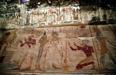 アビドス セティ1世葬祭殿レリーフ