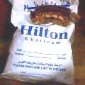 カルツームヒルトンのランドリーバッグ