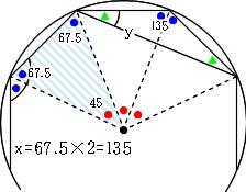 正八角形の3