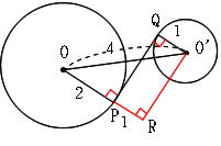 2つの円の解き方