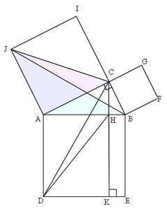 三平方の定理(5)解答の1