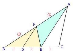 面積の比(2)