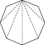 八角形の対角線