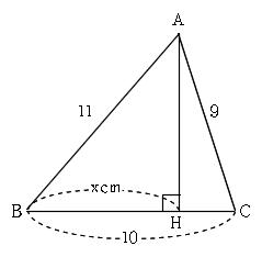 一般的な三角形