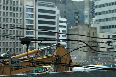 歌舞伎座工事