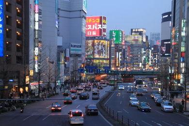 向こうは歌舞伎町