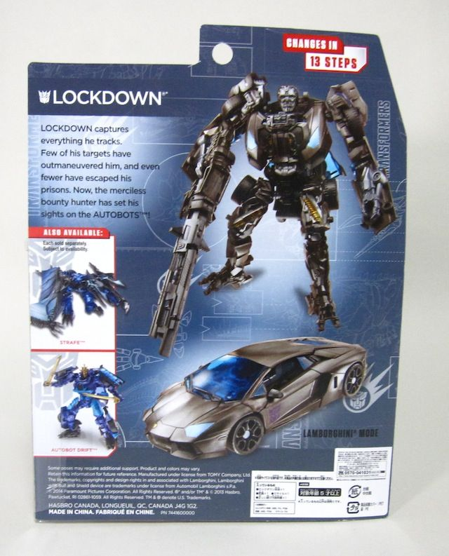 Transformers Movie Advanced Series AD26 lockdown from Japan F//S New!