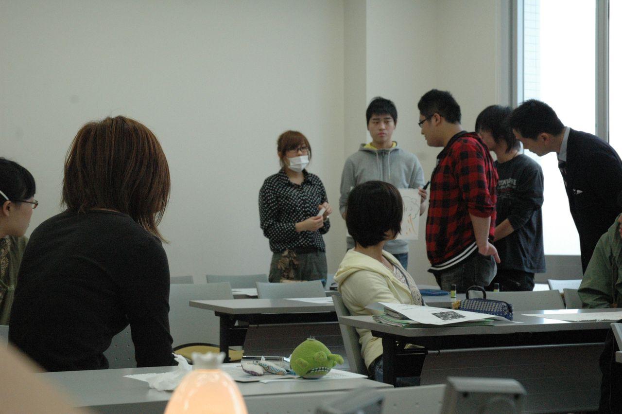 神戸夙川学院大学アロマテラピー講義・なるほどね