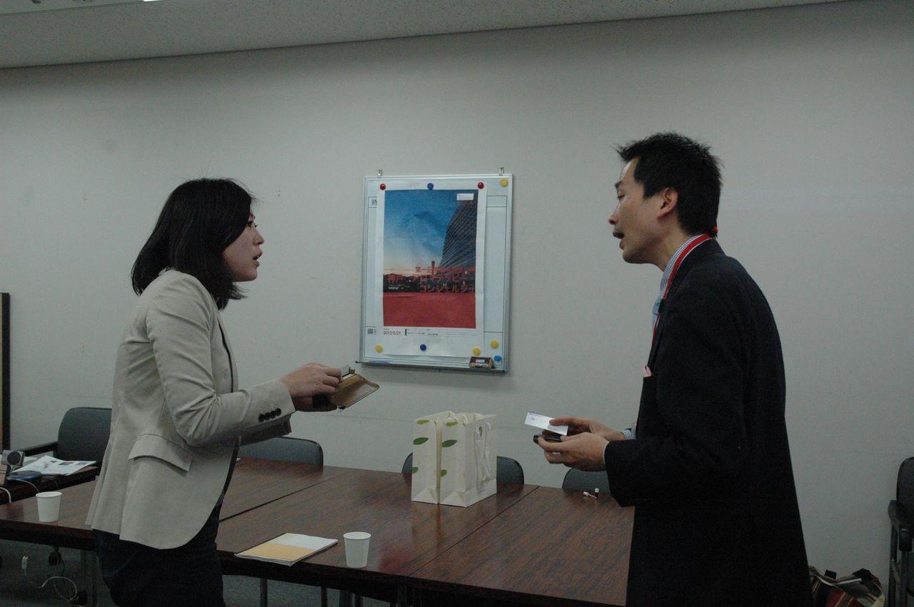 神戸アロマテラピー協会:プレスリリース2011-1-20-記者の方と