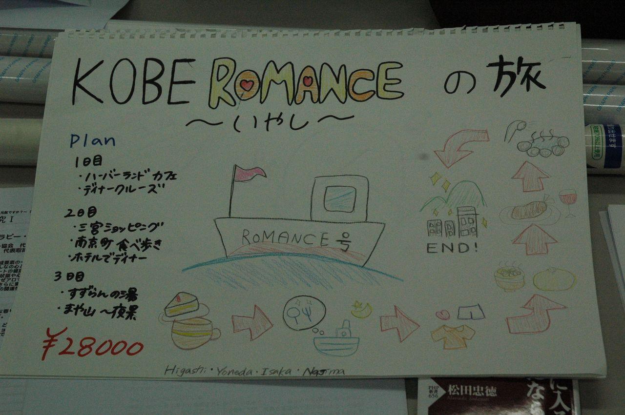 神戸夙川学院大学アロマテラピー講義・KOBE ROMANCE の旅
