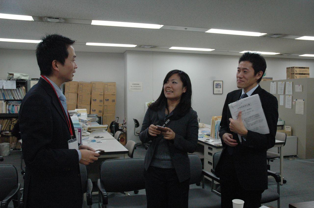神戸アロマテラピー協会:プレスリリース2011-1-20-広報の方とお話