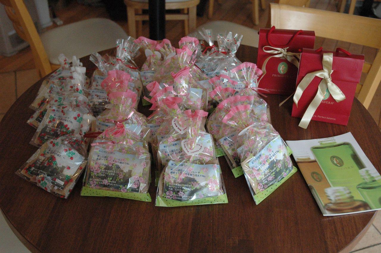 イベント2012117完成した香りの贈り物