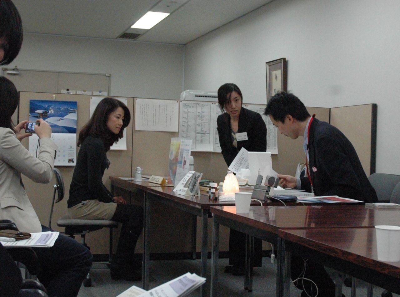 神戸アロマテラピー協会:プレスリリース2011-1-20-小芝居1