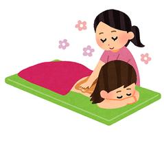 maイラストoil_massage
