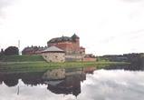 ハメ城 バナヤ湖 フィンランド