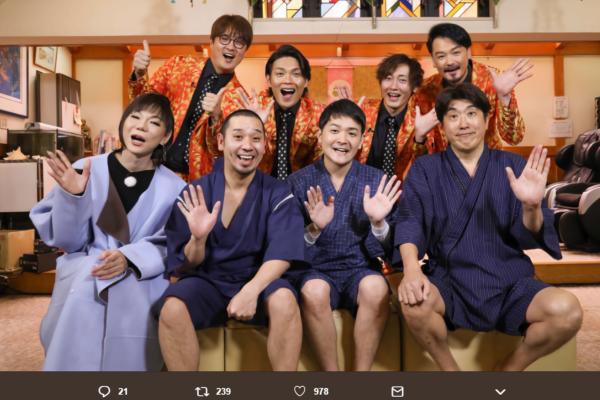 石橋貴明、純烈「暴行騒動」を過激イジリ 「殴られるから近づかないほうがいい」