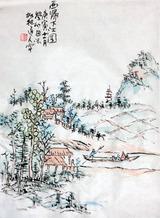 田能村竹田の模写