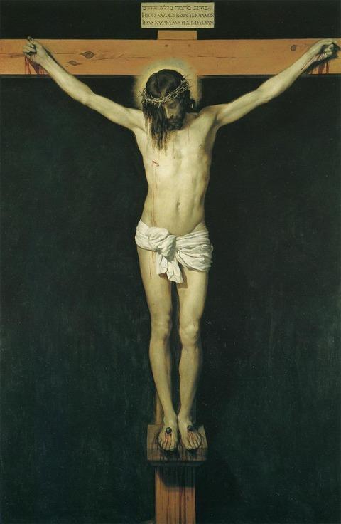 ディエゴ・ベラスケス《キリストの磔刑》