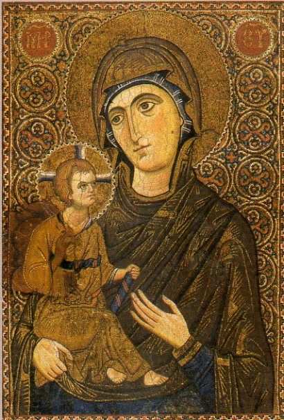 聖母子のモザイク・イコン