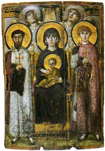 聖母子のイコン