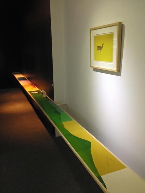 馬川亜弓 木版画展『The grass of a vision』1