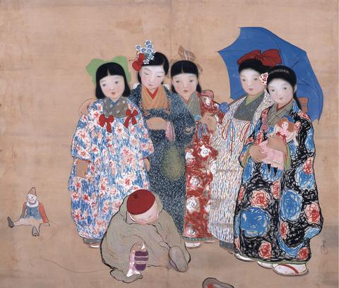 ここだけの日本画