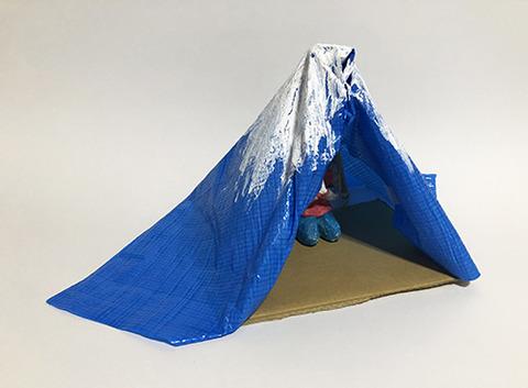 山本雄教  青いテントと五つの輪