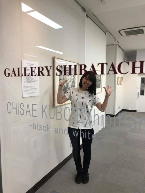 久保智沙衣 銅版画展2018-6