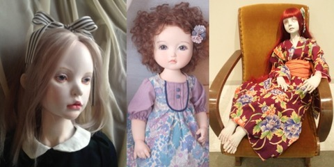 fourtypes of dolls