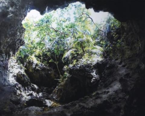 北川安希子 日本画展 枯樹生華