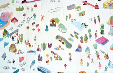 鈴木なるみ 個展2018