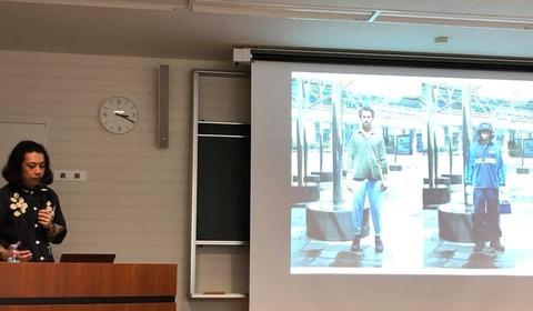 西尾美也さん講師による県民講座「現代アートと地域想像」