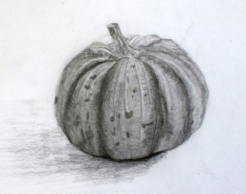 かぼちゃデッサン