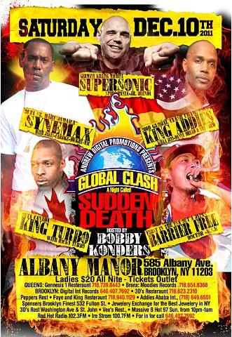 GLOBAL CLASH 2011