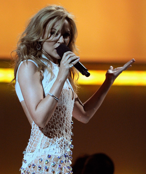 Kylie Minogue At Billboard Awards 2011