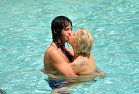 Lady Gaga - bikini pool party - St Regis Hotel kisss06