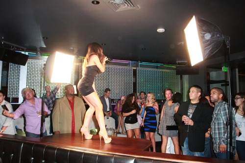 Melissa Molinaro @ Grand Opening of Chloe Nightclub (9)