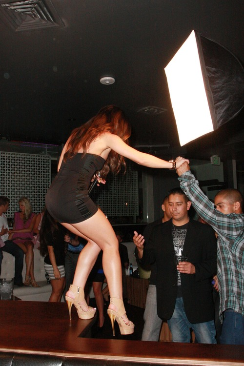 Melissa Molinaro @ Grand Opening of Chloe Nightclub (10)