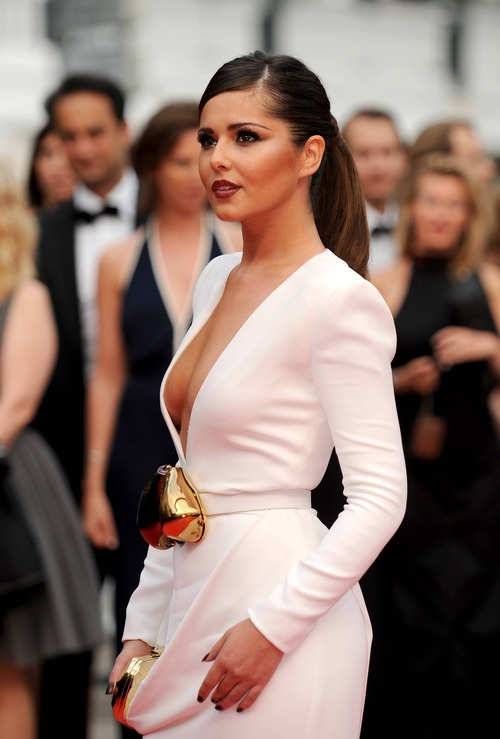 Cheryl Cole Cannes 2011