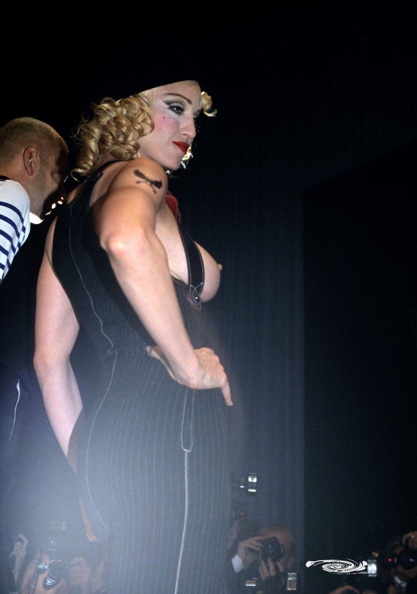 Madonna Topless Runway Pics