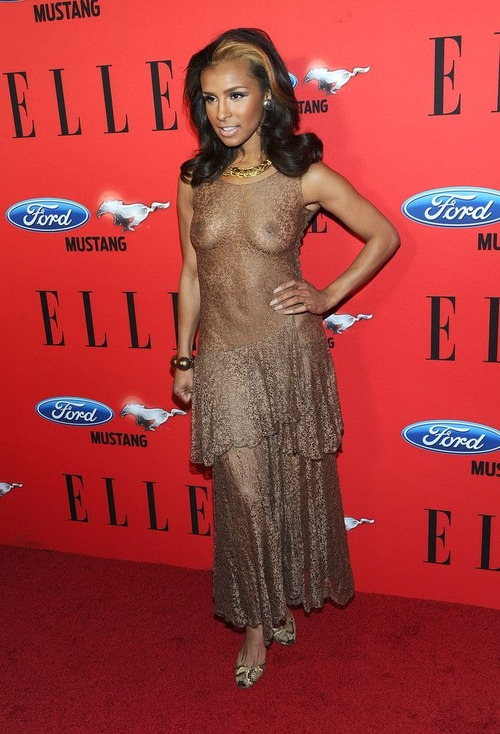 Melody Thornton ELLE Women In Music event 02