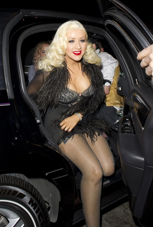 Christina Aguilera - The Abbey West Hollywood