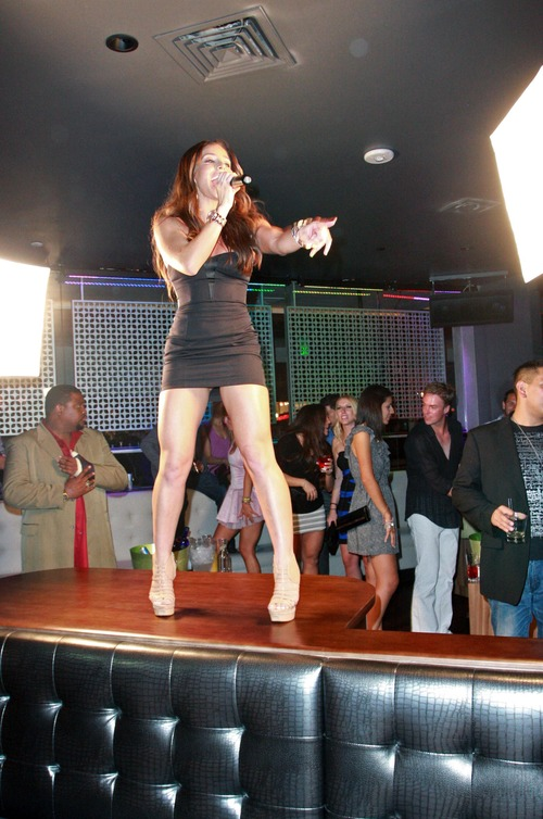 Melissa Molinaro @ Grand Opening of Chloe Nightclub (7)